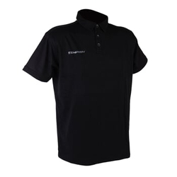 TEEM 2 POLO triko black L